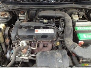2002 Saturn S Series SL2 Sedan 19 Liter DOHC 16Valve 4