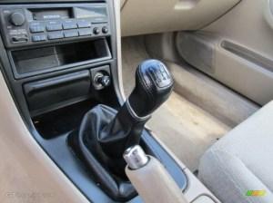 1996 Honda Accord LX Sedan 5 Speed Manual Transmission