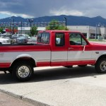 Vermillion Red 1995 Ford F150 Xlt Extended Cab 4x4 Exterior Photo 68221969 Gtcarlot Com