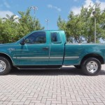 Pacific Green Metallic 1997 Ford F150 Xlt Extended Cab Exterior Photo 68284814 Gtcarlot Com