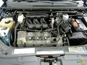 2005 Ford Five Hundred SEL 30L DOHC 24V Duratec V6 Engine
