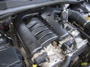 2005 Dodge Magnum SXT 35 Liter SOHC 24Valve V6 Engine