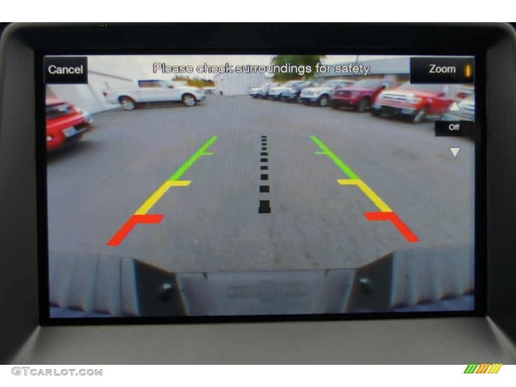 2013 Ford F150 SVT Raptor SuperCrew 4x4 Rear View Camera