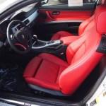 Coral Red Black Dakota Leather Interior 2010 Bmw 3 Series 328i Coupe Photo 78543954 Gtcarlot Com
