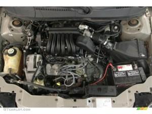 2003 Ford Taurus SES 30 Liter OHV 12Valve V6 Engine
