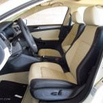 2 Tone Cornsilk Beige Black Interior 2014 Volkswagen Jetta Sel Sedan Photo 86713095 Gtcarlot Com