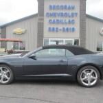 2014 Blue Ray Metallic Chevrolet Camaro Ss Rs Convertible 94998457 Gtcarlot Com Car Color Galleries