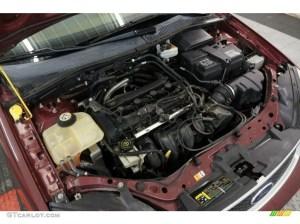2006 Ford Focus ZX4 SES Sedan 20L DOHC 16V Inline 4 Cylinder Engine Photo #99614730   GTCarLot