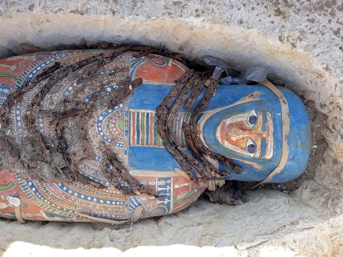 Egypt Unearths Eight Ancient Mummies
