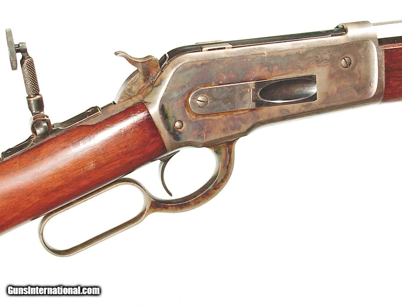 Winchester Model Rifle In 45 90 Caliber