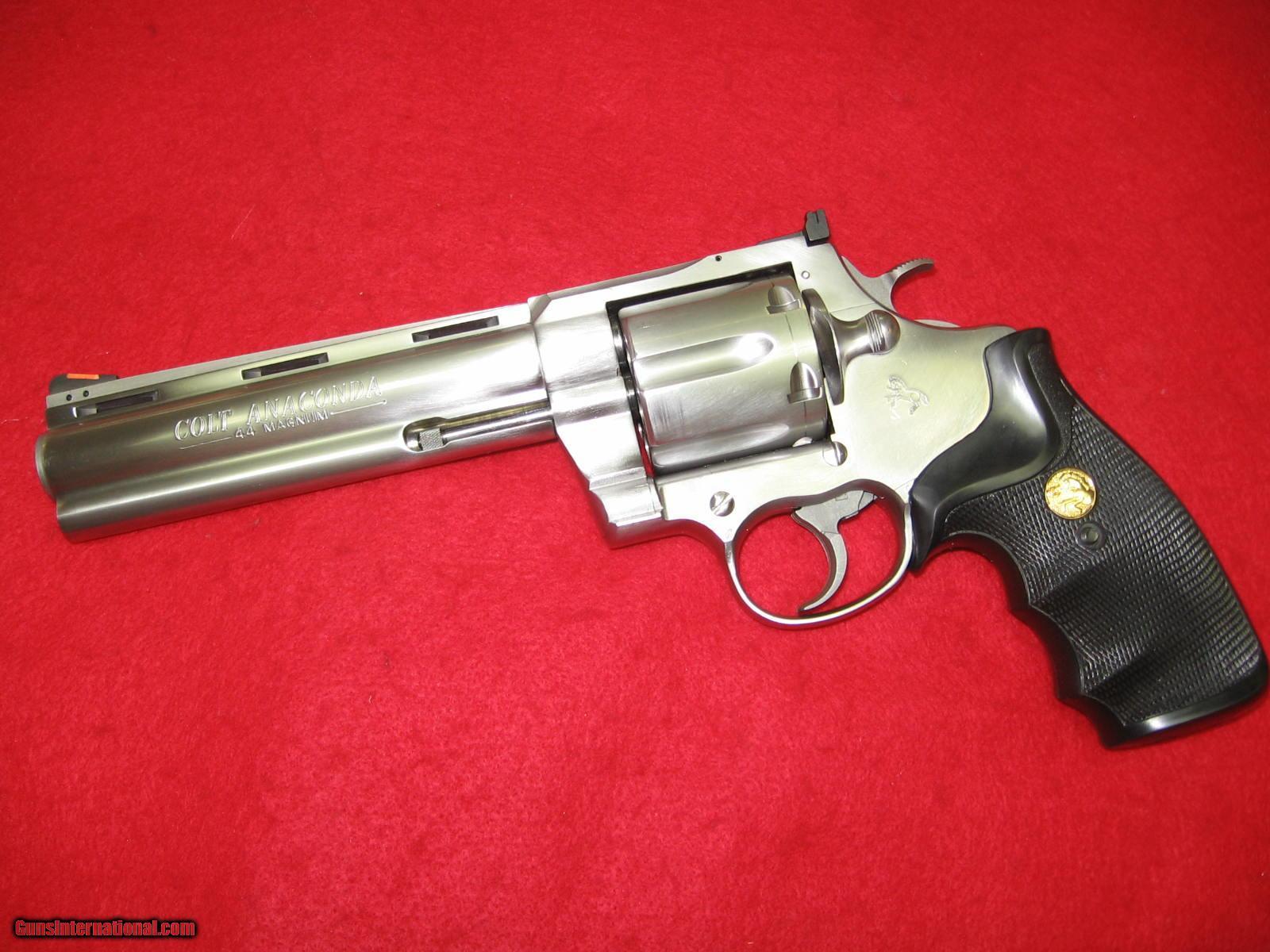 Magnum Colt Revolvers 44