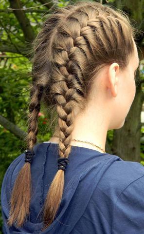 Frisur Mit Gutem Halt Sportfrisur Sport Haare