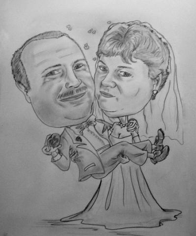 Hochzeitsbild Malen Kurzweiliges Hochzeitspiel Tolle