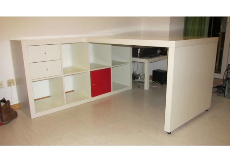Kallax Regal Schreibtisch 2021