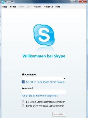 Wie Kann Ich Auf Meinem Rechner Ein Zweites Skype Konto Erstellen Computer Internet