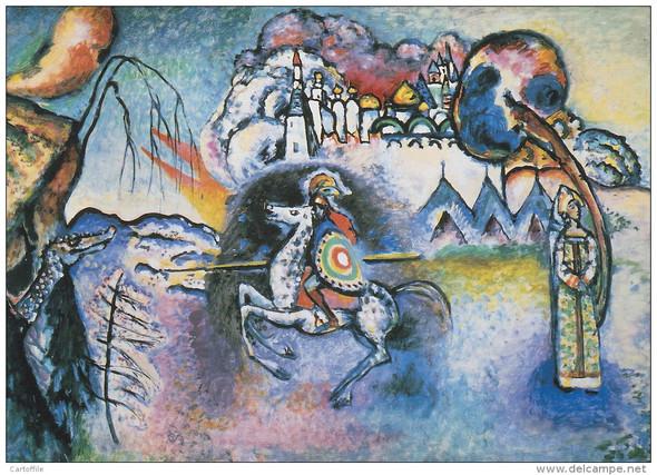 Kandinsky Richtiges Bild Schule Kunst Hausaufgaben