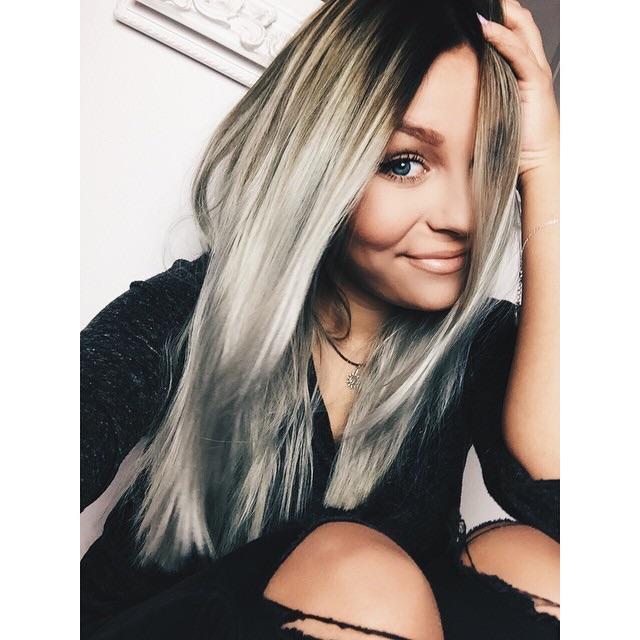 Wie Bekomme Ich Eine Solche Haarfarbe Hin Und Ist Das