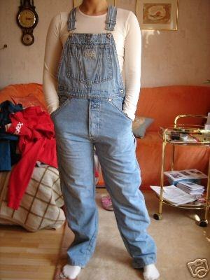 Wrdet Ihr Die Jeans Latzhose Tragen Mode 90er