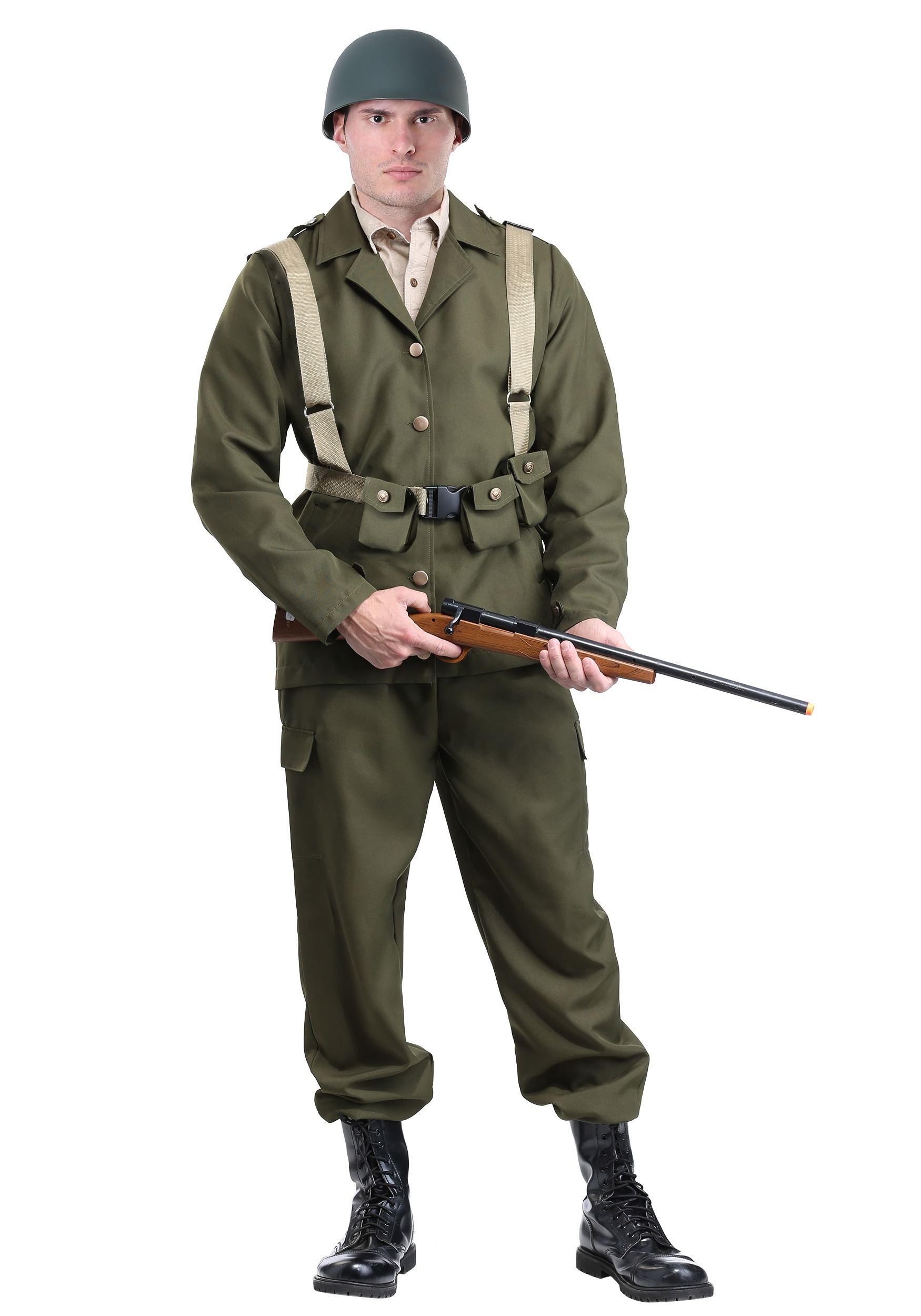 Deluxe Ww2 Sol R Costume For Adults