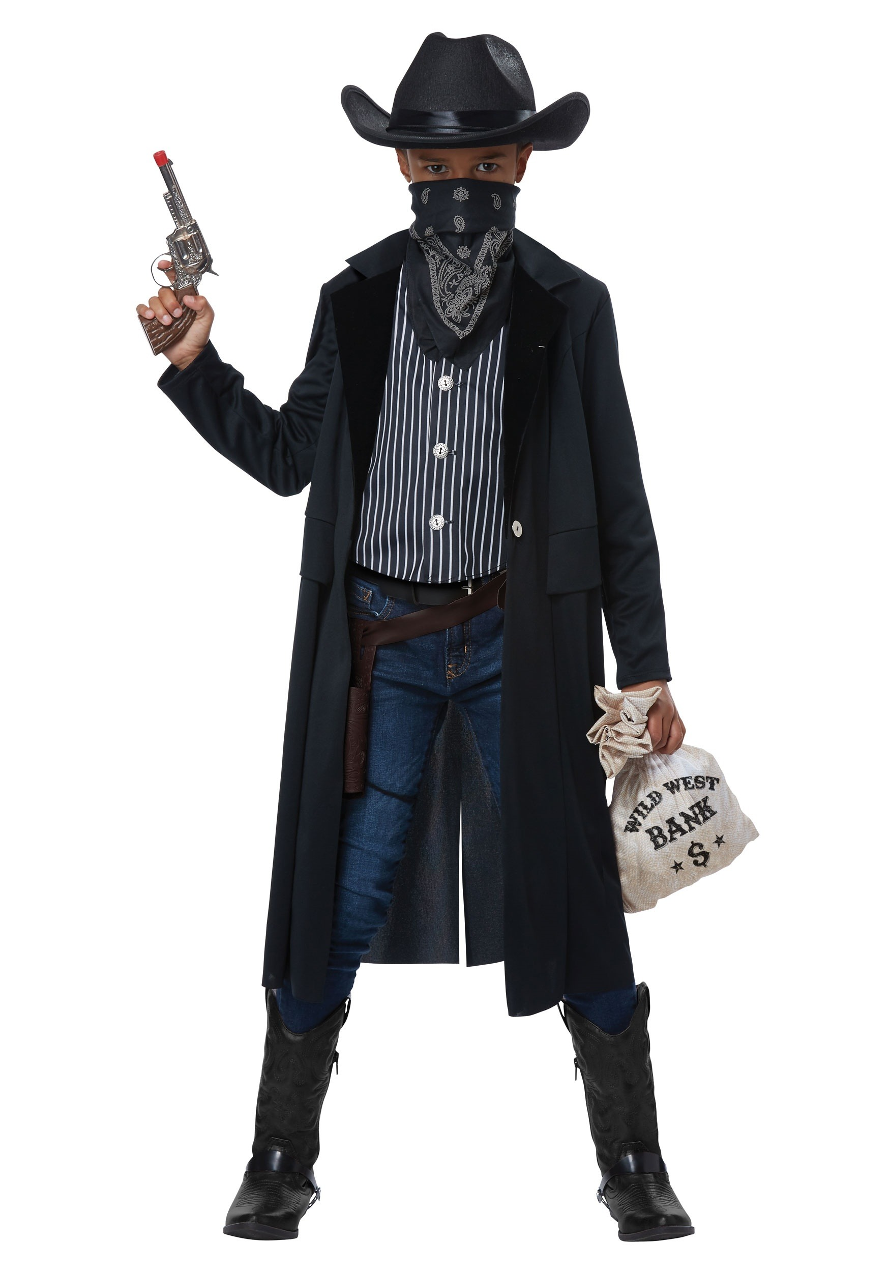 Kids Wild West Gunslinger Costume