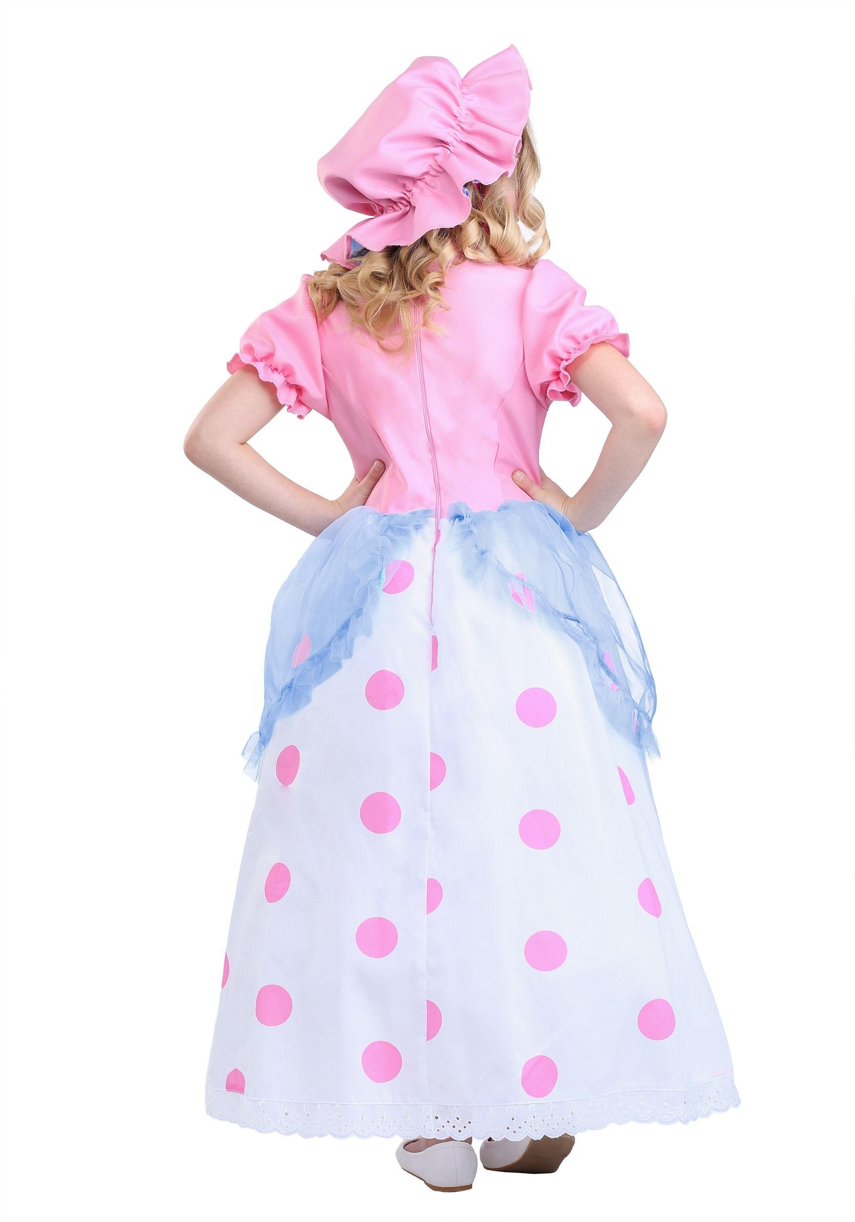 Little Bo Peep Costume For Girls