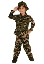 Toddler Army Costume