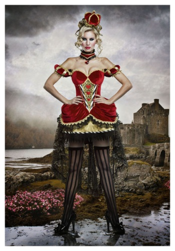 halloween costume queen of hearts