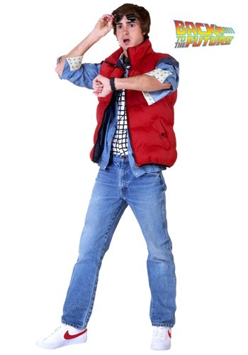 Back To The Future Marty McFly costume set