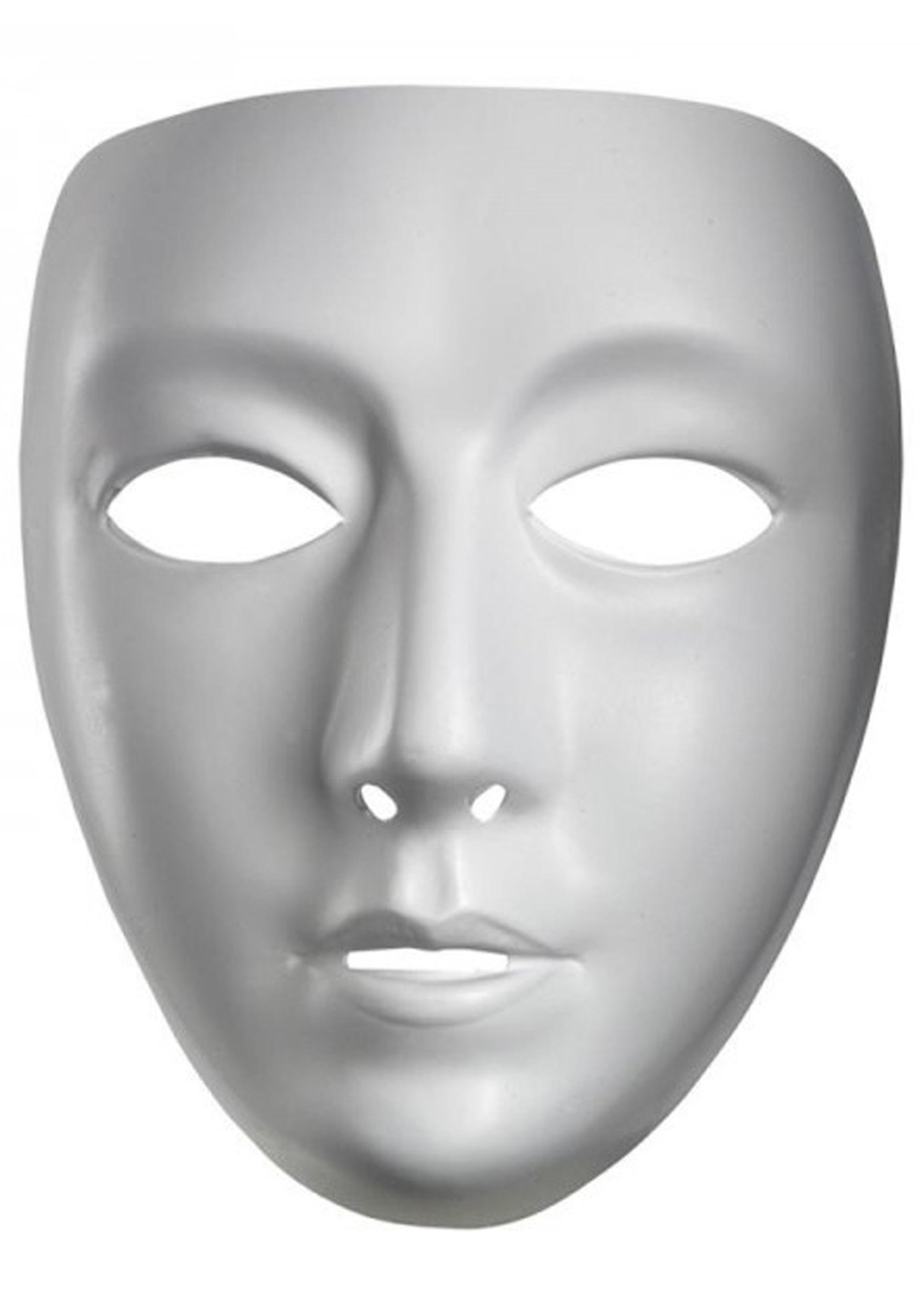 Adult Blank Female Mask