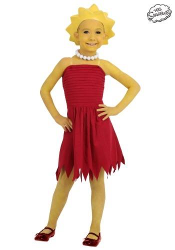 Child Lisa Simpson Costume - $34.99