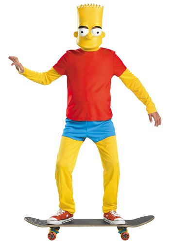 bart simpson costume kids