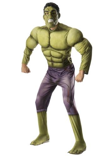 Adult Deluxe Hulk Avengers 2 Costume