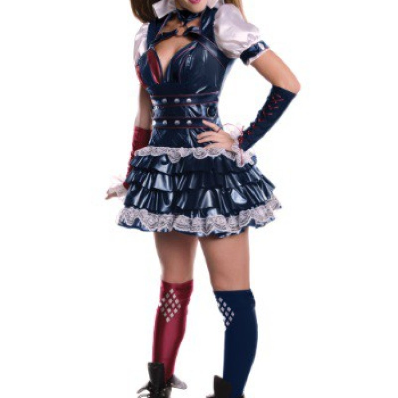 Secret Wishes Arkham Knight Harley Quinn Costume