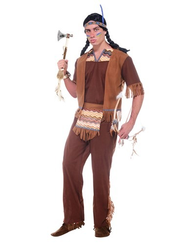 Men's Brave Warrior Costume - $29.99