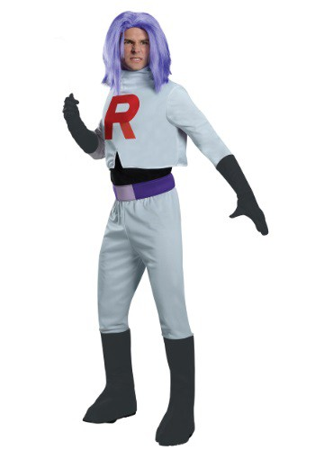pokemon halloween costumes - Adult James Team Rocket Costume - $49.99