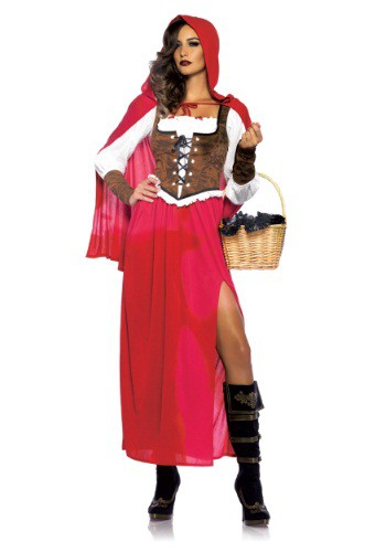 Women's Woodland Red Riding Hood Costume - $49.99