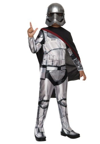 Star Wars 7 Costumes captain phasma costume for girls