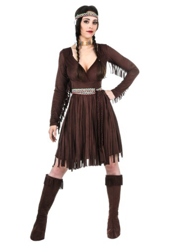 Adult Women's Native American Dress - $54.99