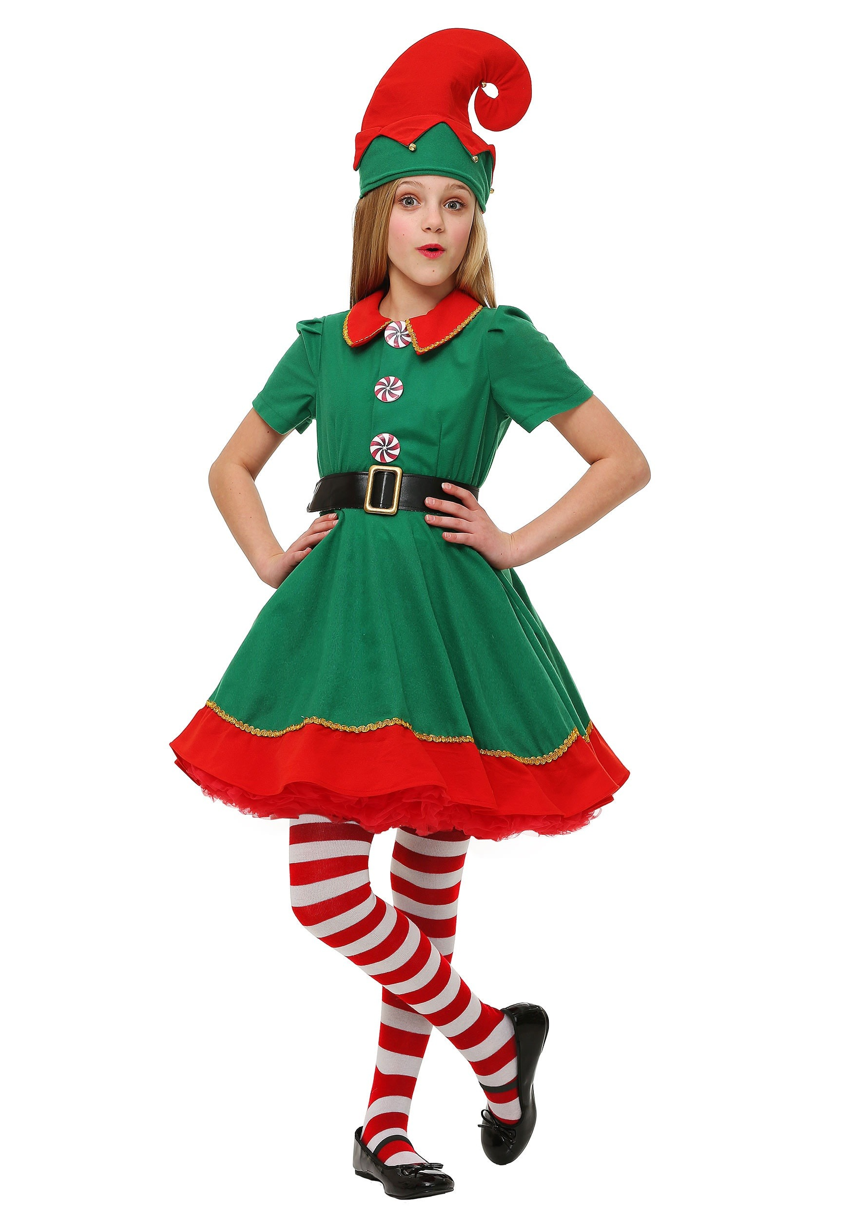 Holiday Elf Costume For Girls
