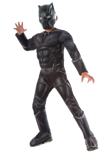Boys Civil War Black Panther Deluxe Costume - $39.99