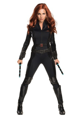 Women's Deluxe Civil War Black Widow Costume - $49.99