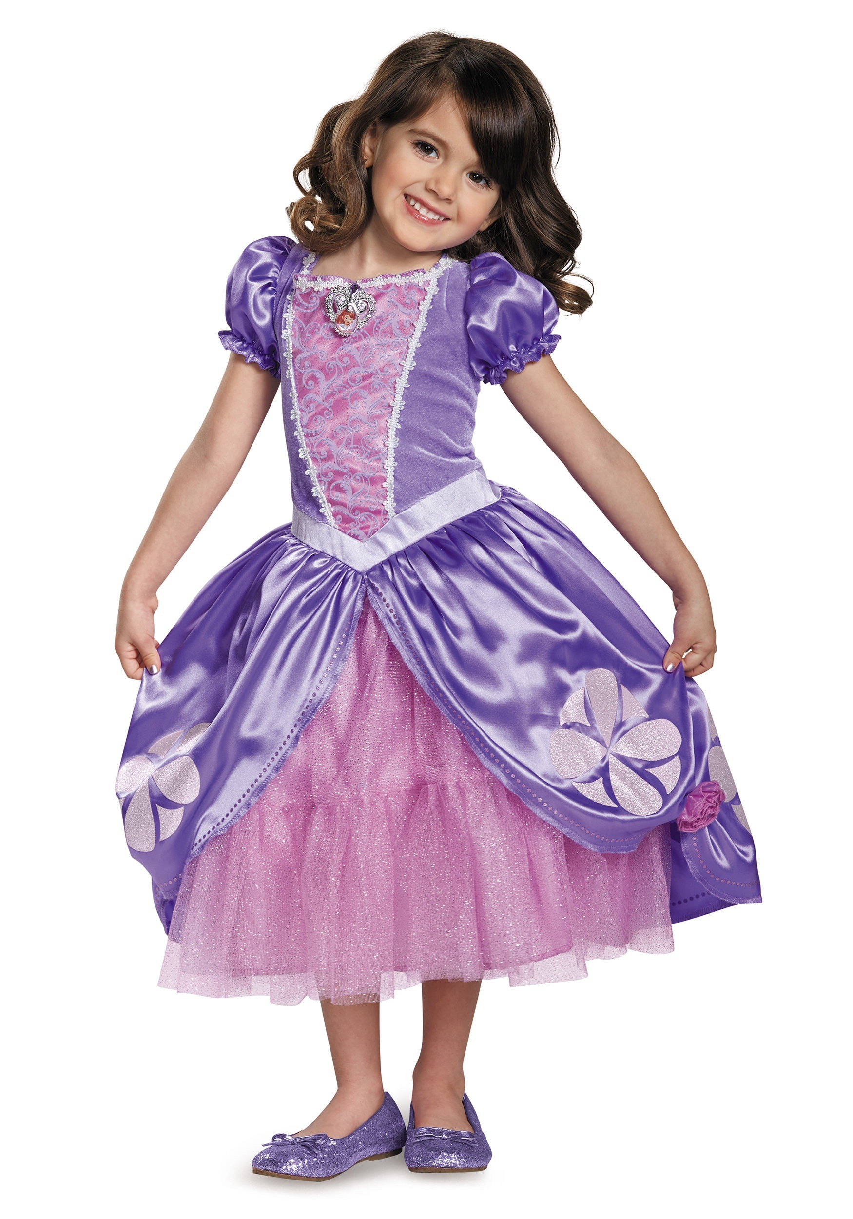Deluxe Girls Sofia The First Next Chapter Costume Dress