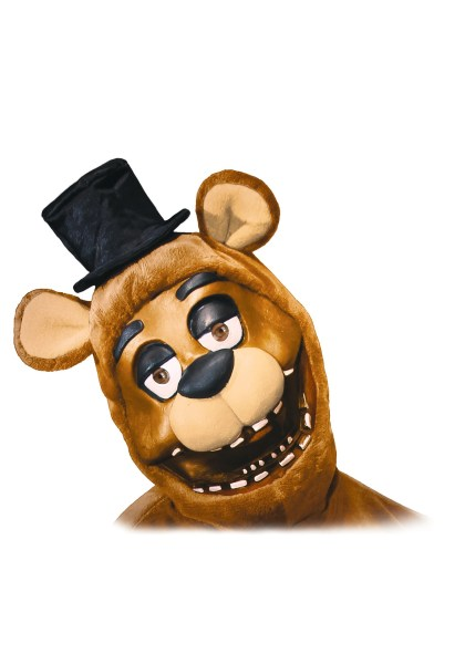 FNAF Freddy Adult Hood Mask FNAF 3 4 Freddy Adult Mask