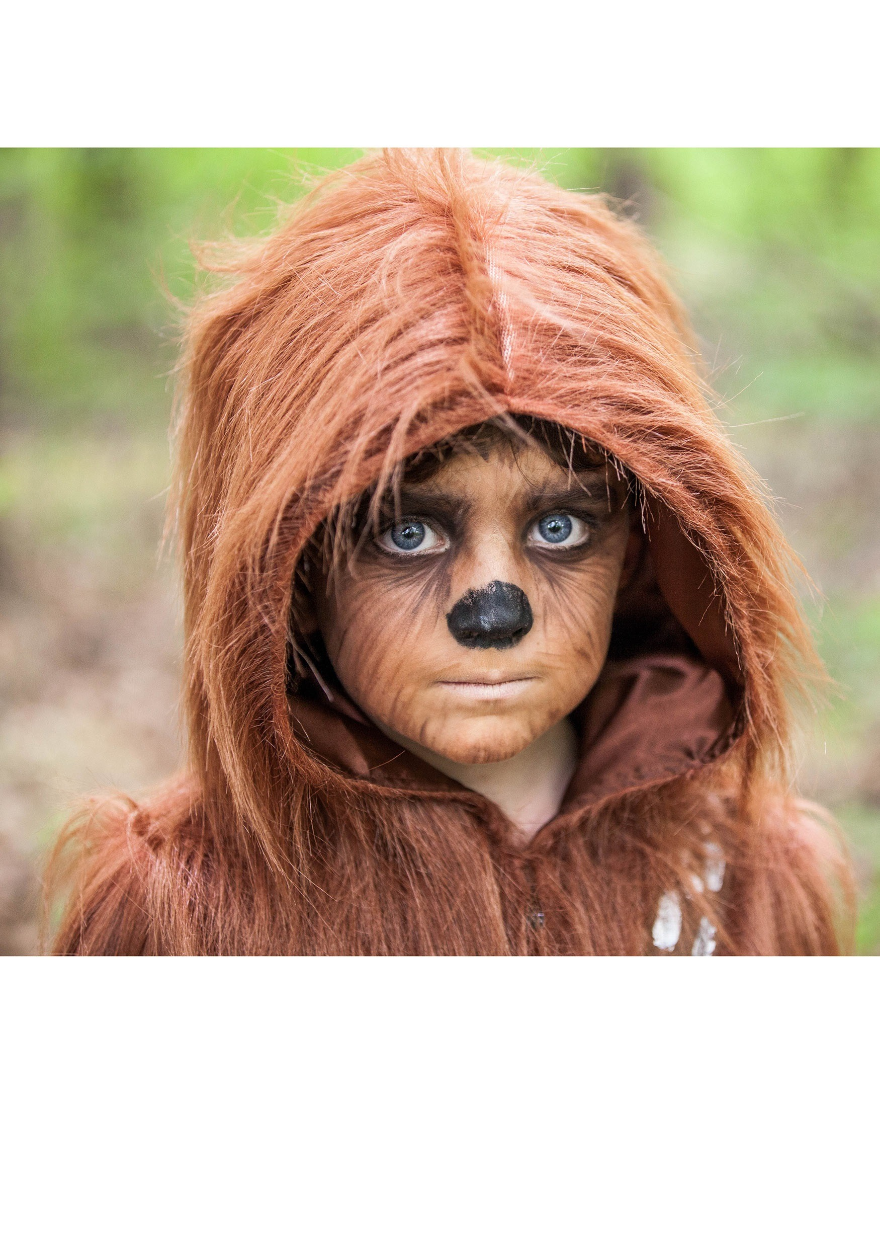 Deluxe Chewbacca Costume For Toddlers  sc 1 st  Hairstly.org & chewbacca makeup | Hairstly.org