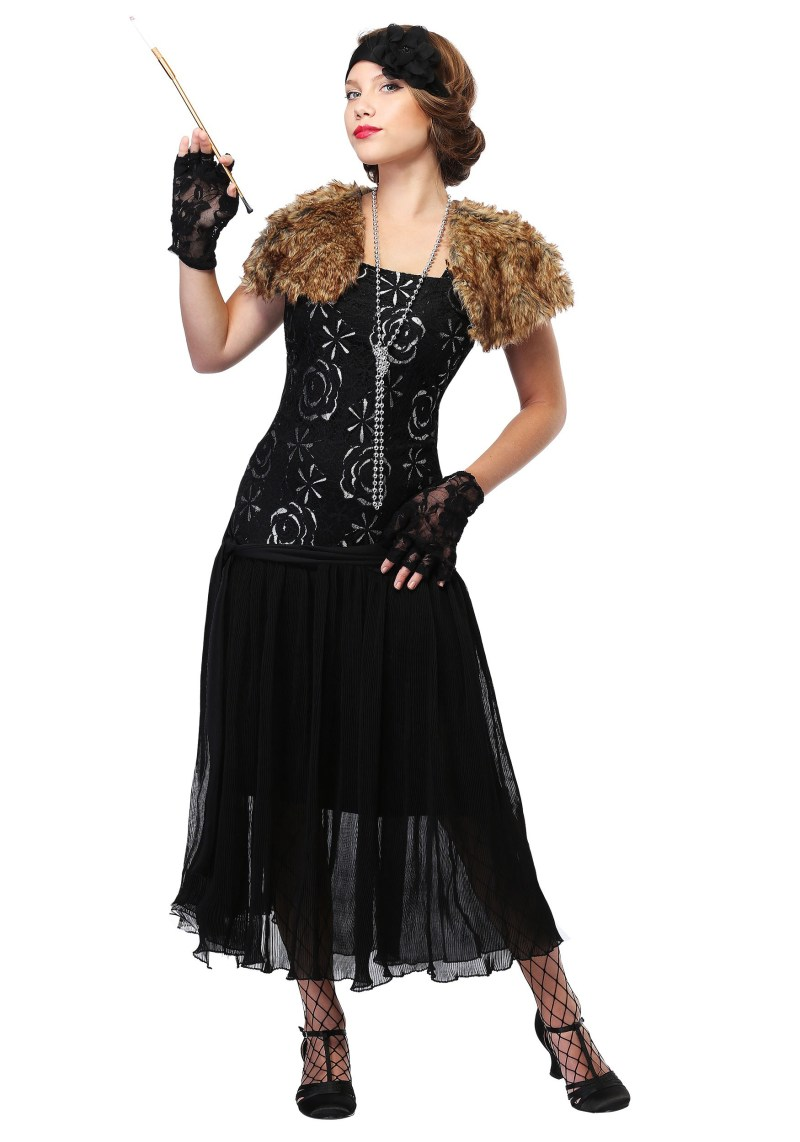 Charleston Flapper Costume in Women's Plus Size