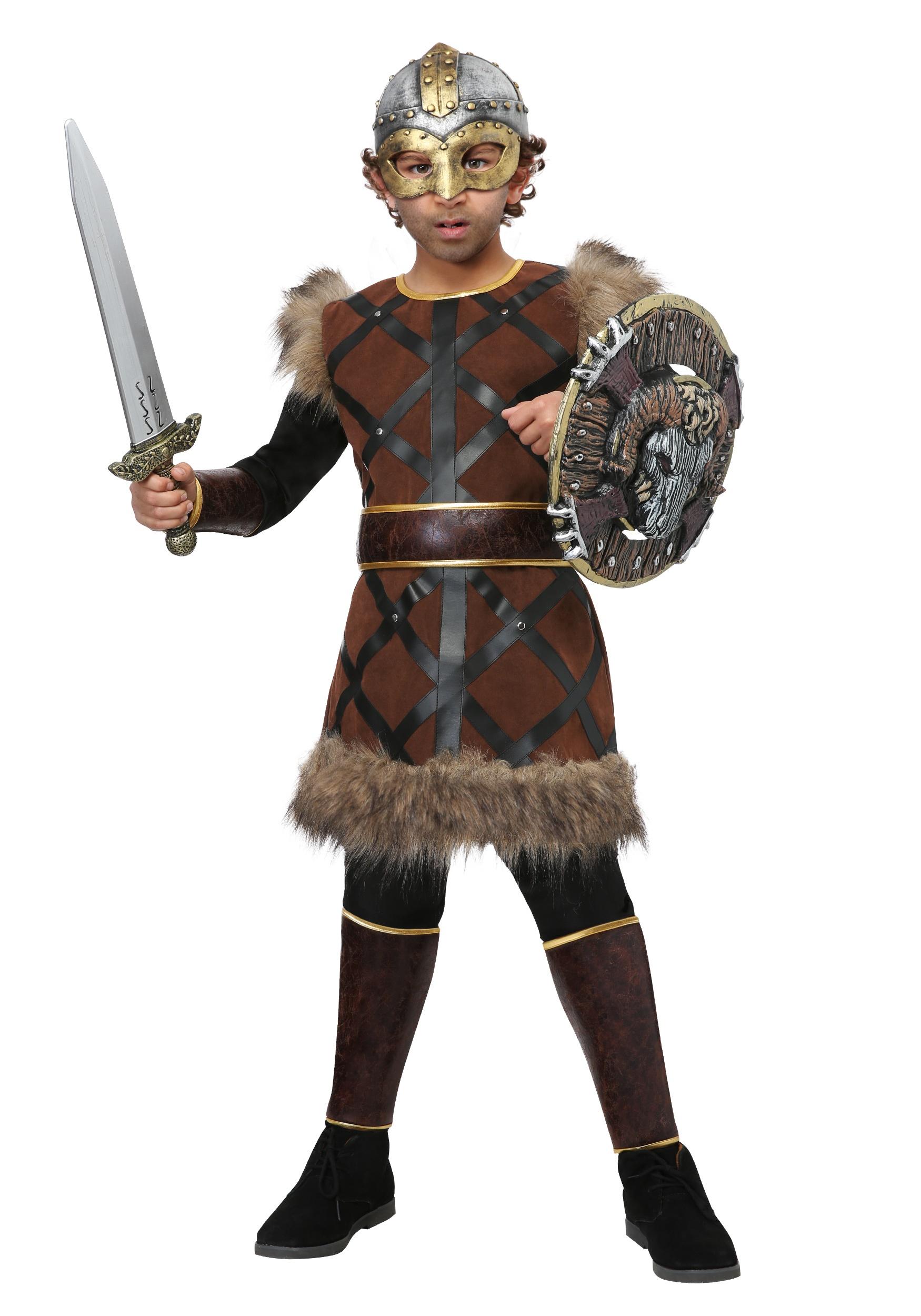 Fighting Viking Costume For Boys