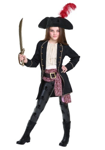 Buccaneer Costume For Girls