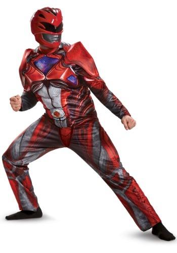 Power Rangers Movie Black Ranger Fancy Dress Costume Boys Child Outfit