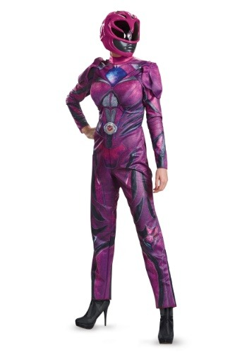 Power Rangers Movie Pink Ranger Deluxe Women's Costume