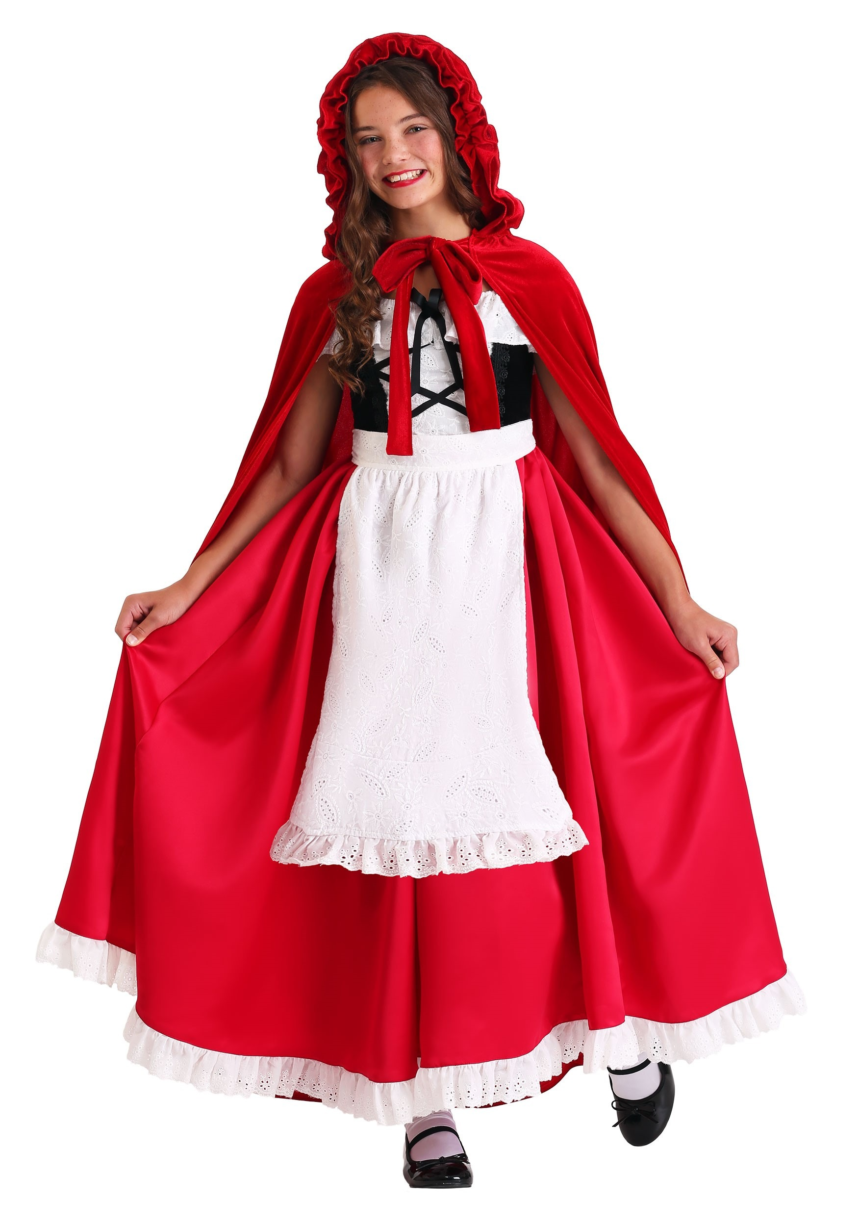 Child S Deluxe Red Riding Hood Costume